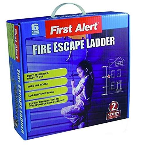 Temprix Rettungsleiter Feuerleiter First Alert 2 Stockwerke/Etagen 4,3m Sicherheitsleiter
