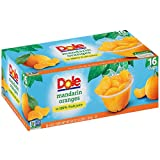 Dole Mandarin Orange Bowl, 4oz Cup (Pack of 16 Cups, Total of 64 Oz)