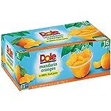 Dole Mandarin Orange Bowl, 4oz Cup (Pack of 16 Cups, Total of 64 Oz)