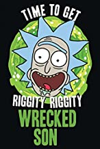 1art1 Rick Y Morty - Time To Get Riggity Riggity Wrecked Son Póster (91 x 61cm)