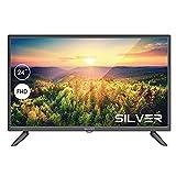 TV LED SILVER 24' FHD