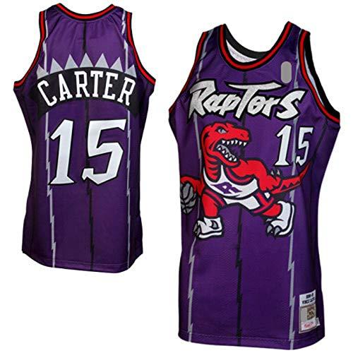 YARUODA Jersey Star Jersey Púrpura Throwback Outdoor # 15 Traning Jersey # Nombre? Icono JerseyEdición al aire libre