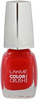 Lakmé True Wear Color Crush Nail Color, Reds 31, 9 ml