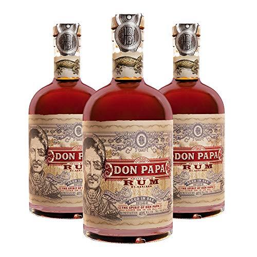Don Papa Rum 3er Pack Dark (3 x 0.7 l)