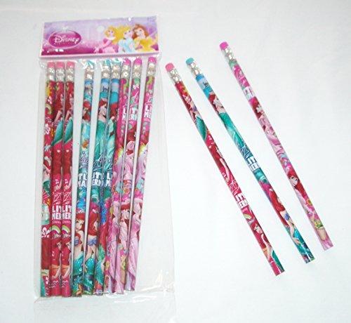 Disney Princess Little Mermaid Ariel 12 Wood Pencils Pack