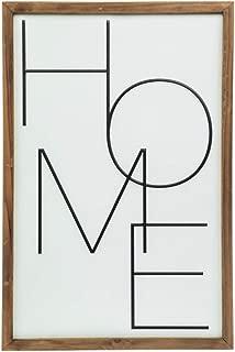 Hobby Lobby Rustic Farmhouse Metal Home Sign Wall Decor (23.5 x 15.7 x 1.4 inches)