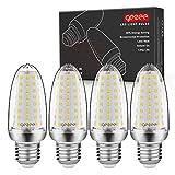 GEZEE E27 LED Maíz Bombillas, 14W 1400LM, LED de Bombillas 120W Equivalente, Blanco Natural 4000K, AC 230V, No Regulable Lámpara, Sin parpadeo (4 paquetes)