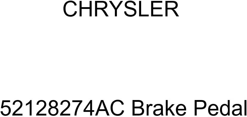 Chrysler Genuine 52128274AC At the price of surprise Brake Pedal Popular products