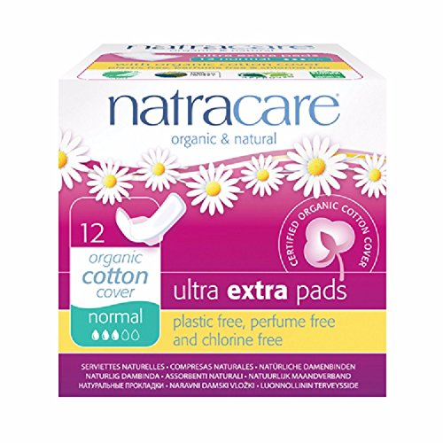Natracare Ultra Extra Lot de 12 serviettes hygiéniques normales