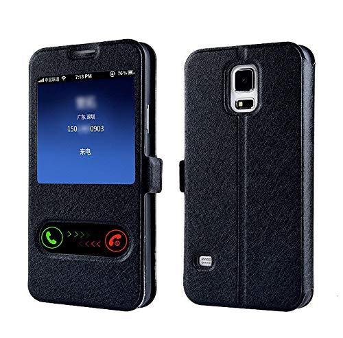 RZL Teléfono móvil Fundas para LG G8S G8 G7 G6 G5 G4 G3 P8 P6, Elegante de Lujo de la Ventana Delantera Vista del tirón del Cuero del Caso para LG K7 K3 K4 2017 K8 2018 K10 V30 X de energía 2