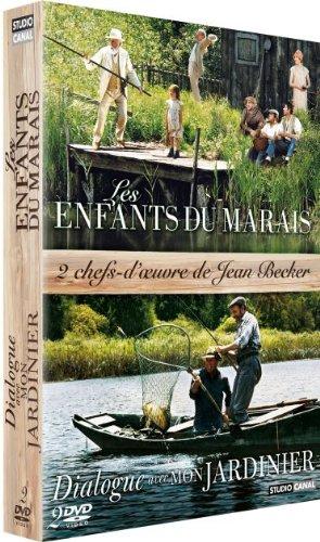 Coffret Jean Becker-Les Enfants du Marais + Dialogue avec Mon Jardinier