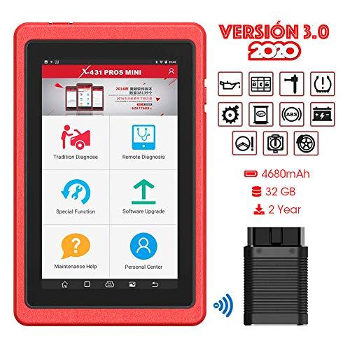 X-431 Pro Mini Professional OBD2 Mehrmarken-Diagnosescanner OBDII / EOBD Auto-Codeleser Tablet Android Bluetooth WiFi Kostenlose Online-Updates 2 Jahre(Englisch Version aber kann deutsch ersetzen)