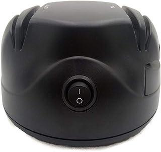 HEMFV Afilador de Cuchillos eléctrico, Sistema de Afilado de Cuchillos de Cocina for el hogar, Negro