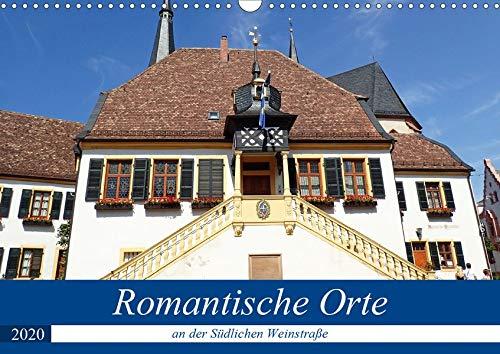 Romantische Orte an der Südlichen Weinstraße (Wandkalender 2020 DIN A3 quer): Die Südliche Weinstraße ist gesäumt von vielen kleinen romantischen ... (Monatskalender, 14 Seiten ) (CALVENDO Orte)