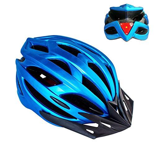 Feicuan Bicycle Helmet for Men Women - 52-61cm Cycling Helmet with Sun Visor Light Adjustable Headband for Road Mountain Bike Skateboard Multi-sport