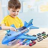 Modelo de juguete Modelo de juguete para niños Simulación Inercia Avión de juguete Pista de sonido y luz Juguete Avión de pasajeros Coche de juguete Juguete para niños Avión de pasajeros Set para niñ