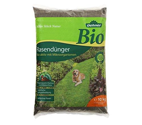 Dehner Bio Rasendünger, 10 kg, für ca. 200 qm