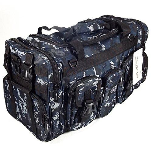 NPUSA Mens Large 22' Inch Tan Duffel Duffle Military Molle Tactical Gear Shoulder Strap Travel Bag