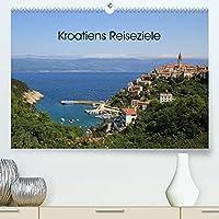 Kroatiens Reiseziele (Premium, hochwertiger DIN A2 Wandkalender 2022, Kunstdruck in Hochglanz): Kroatien als Urlaubsland hat viel zu bieten von mittelalterlichen, verwinkelten Staedten, abwechslungsreichen Landschaften, vielen Burgen und Inseln bis hin zu beeindruckenden Nationalparks. (Monatskalender, 14 Seiten )
