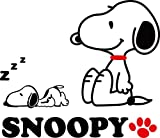 Cartoon Snoopy 3D Acrylic Crystal Wall Stickers Children Room Bedroom Decor Fashion Style (Large Size)