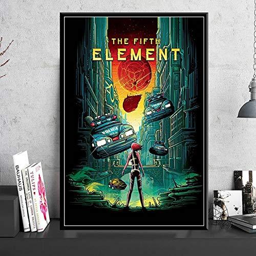 Puzzle 1000 piezas La película de ciencia ficción clásica del quinto elemento puzzle 1000 piezas paisajes Rompecabezas de juguete de descompresión intelectual educativo divert50x75cm(20x30inch)
