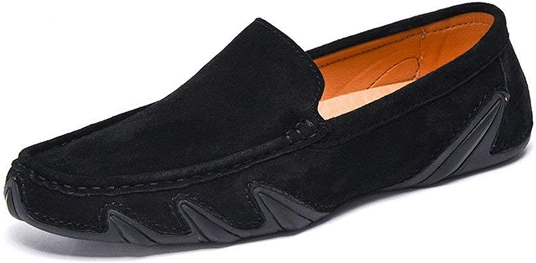Oudan Herren Mokassins Schuhe, Männer Fahren Penny Leichte Mokassins Echtes Leder Weiche Gummisohle Stiefel Loafers (Farbe   Grau, Größe   43 EU) (Farbe   Schwarz, Größe   38 EU)  | Outlet