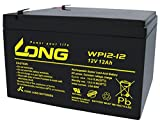 ロング (KUNG LONG BATTERIES) 産業用鉛蓄電池 (12V-12Ah) PE12V12/互換 (標準系) WP12-12