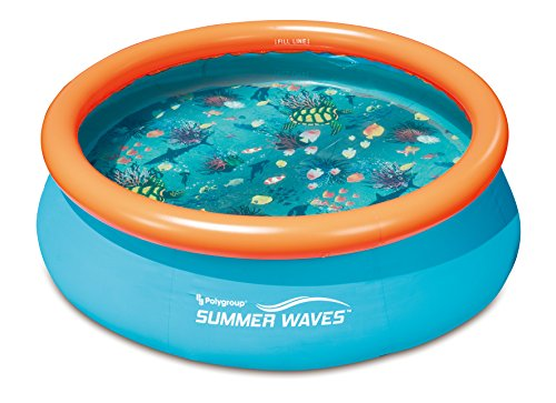 """Summer Waves 10'x30"""" 3D Quick Set Pool with 2 Pairs of 3D Goggles"""