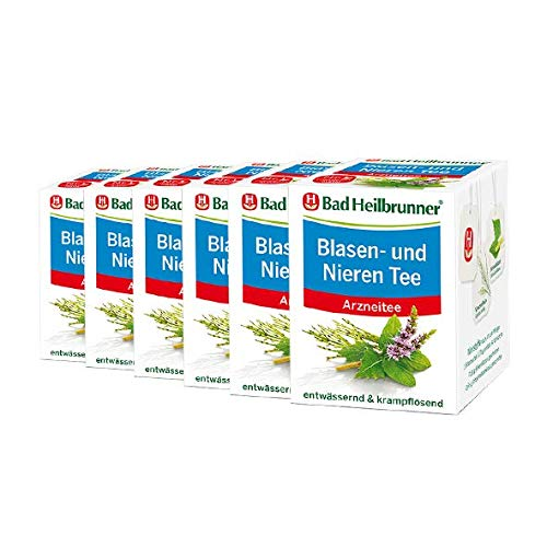 Bad Heilbrunner® Blasen- und Nieren Tee - 6er Pack…