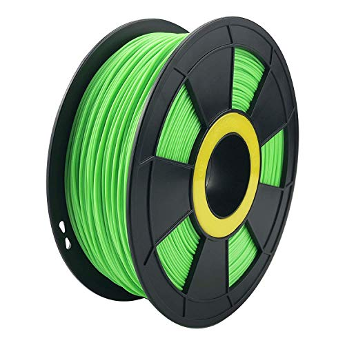 ZIRO 3D Printer Filament PLA PRO Fluorescence Series 1.75mm 1KG(2.2lbs), Dimensional Accuracy +/- 0.05mm,Fluo green