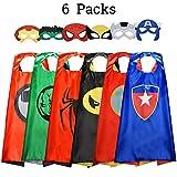 Easony Spielzeug Junge 3 4 5 6-10 Jahre,Superhelden Kostüm für Kinder Geschenk Junge 3 4 5 6-10...