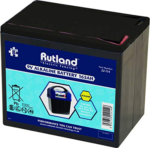 Rutland 22-114R Rutland Batterie Alkaline 9V, 165Ah