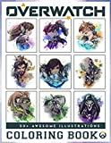 Overwatch Coloring Book 50+ Awesome Illustration: Exclusive Work - 50 illustrations, Great Coloring Book for Kids To Relax And Relieve Stress. Let Overcame TV Addiction and Reclaimed Your Life