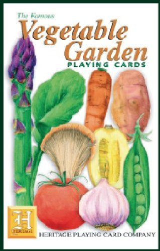 Vegetable Garden Playing Cards by Heritage Playing Card