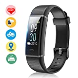 Fitness Tracker Orologio Fitness Impermeabile IP68 Braccialetto...