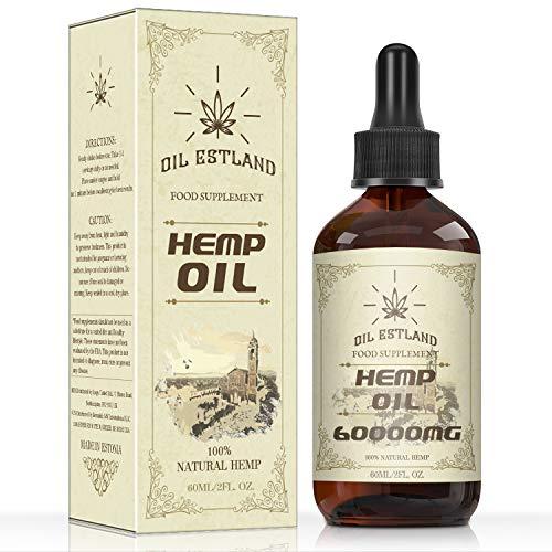 ESTLAND goldenes Öl Tropfen I - 96% - 60ML - PREMIUM I Omega 3 6 & 9 I PRODUKT ESSENZ I Neutrale Verpackung I Made in Estland (60000-60ml)