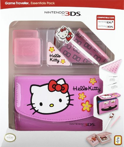 Nintendo 3DS - Pack Bolsa Traveller Essential Hello Kitty