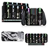 giZmoZ n gadgetZ Trooper Skin Decal Vinyl Sticker Compatible with Nintendo Switch Console + 1 Controller Skins Set