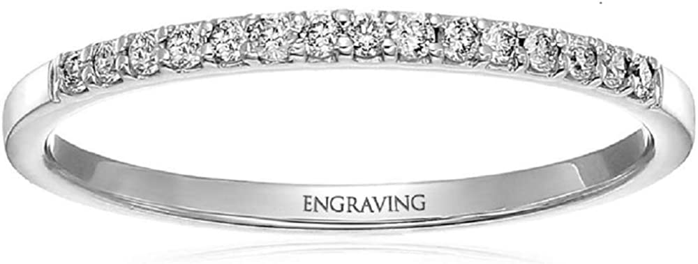 Challenge the lowest price Aihpos Name Custom Ring with 4 Personalized Moissanite Carat 1 Ranking TOP9