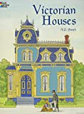 COLOR BK-VICTORIAN HOUSES (Dover History Coloring Book)