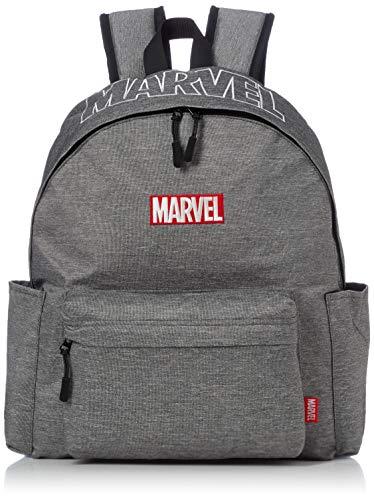 [マーベル] MARVEL マーベル メンズ レディース バックパック 大容量 赤ボックス 通学 通勤 リュック グレー One Size