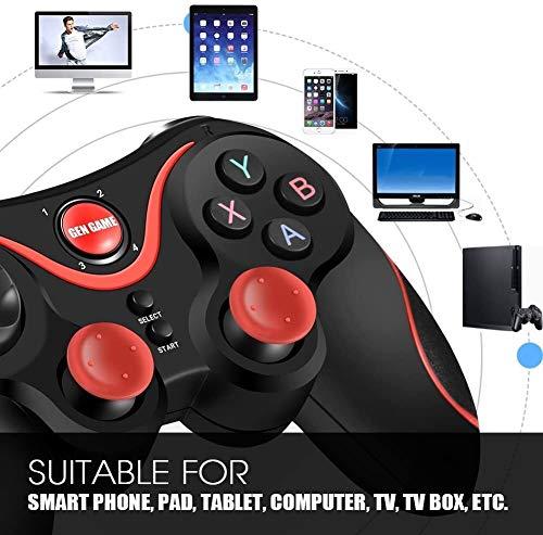 Yppss Wireless Game Controller Bluetooth Smartphone Gamepad Joypad Analog Joystick kompatibel mit iOS/Android/PC/Laptop-Computer (Windows XP / 7/8/10) / Smart TV/TV Box/Tablet Eternal