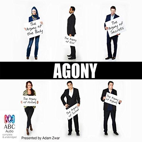 Agony audiobook cover art