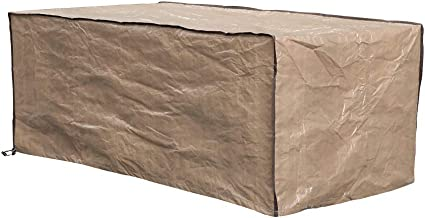 """Patiorama Outdoor Patio Sofa Cover, Rectangular Waterproof Garden Couch Protector, All Weather Protection, 60"""" L x 33"""" W x..."""