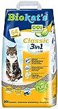 Gimborn Biokat's Classic 3in1 ohne Duft - Klumpende Katzenstreu mit 3 unterschiedlichen Korngrößen - 1 Sack (1 x 20 L)