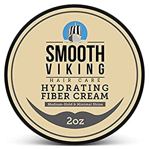 Beauty Shopping Hair Cream For Men | Smooth Viking Hydrating Fiber Cream for Styling (2 Ounces) –