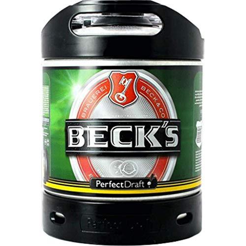 FUSTO birra PerfectDraft 6L beck' S (di cui 5EURO récupérable)