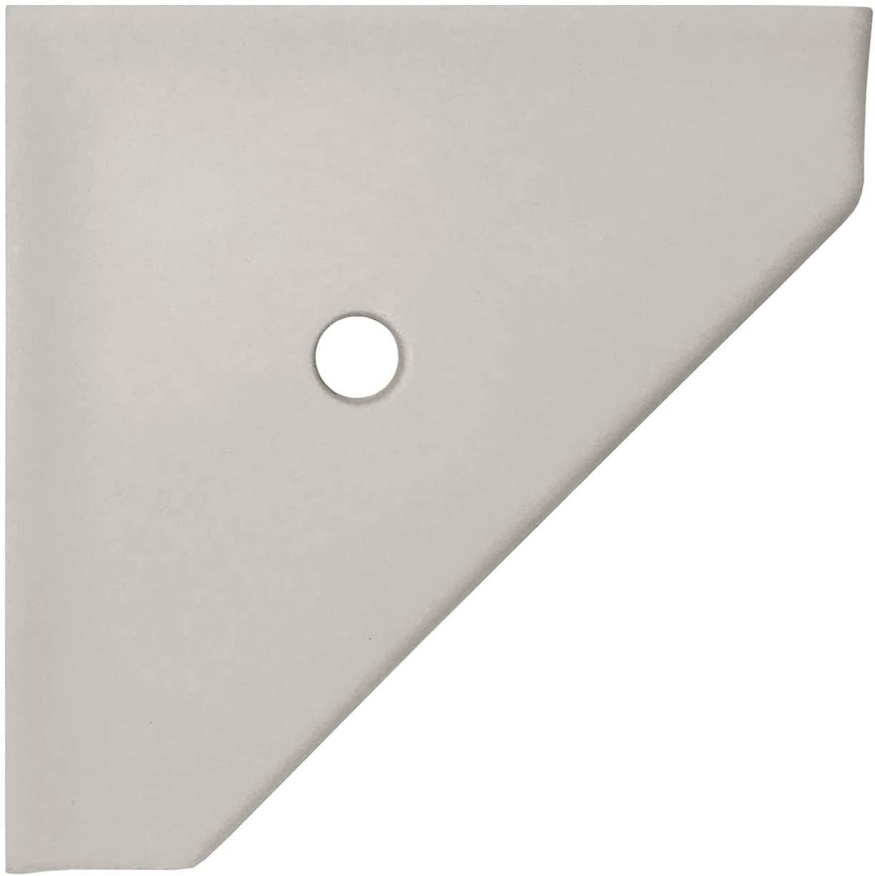 8 inch Corner Shower Shelf - Super sale period limited Sale Special Price Or Bathroom Wall Matte Gray Mounted
