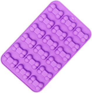 lumanuby 1 x perro hueso Moldes silicona para galletas jalea o Pudding Postre moldes para hielo