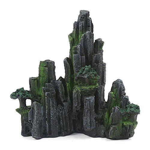 Massif de rocaille artificiel en résine pour aquarium de poissons et bassin pour tortues